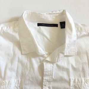 Sean John White Button Down Shirt
